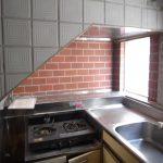 [旧]階段下にガスレンジという台所