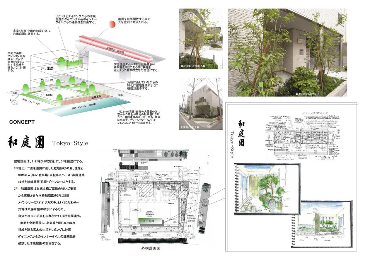 T様邸「和庭園 Tokyo-Style」