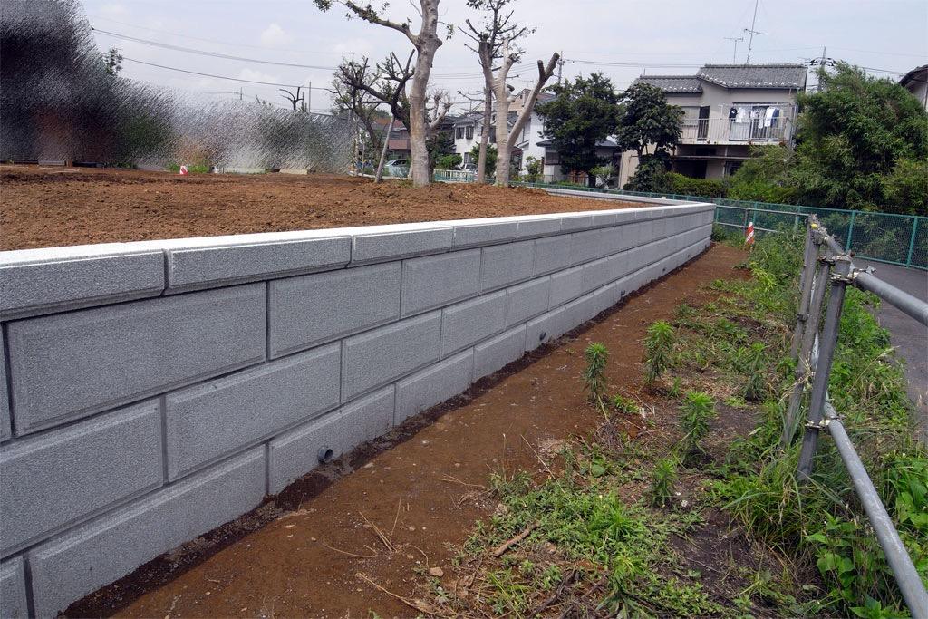 S様邸 擁壁施工(横浜市青葉区)
